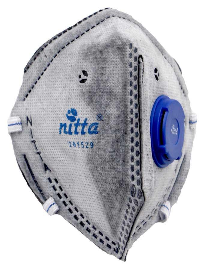 respirador Respirador Con Válvula Blanco Respirador Carbon Activado con Valvula