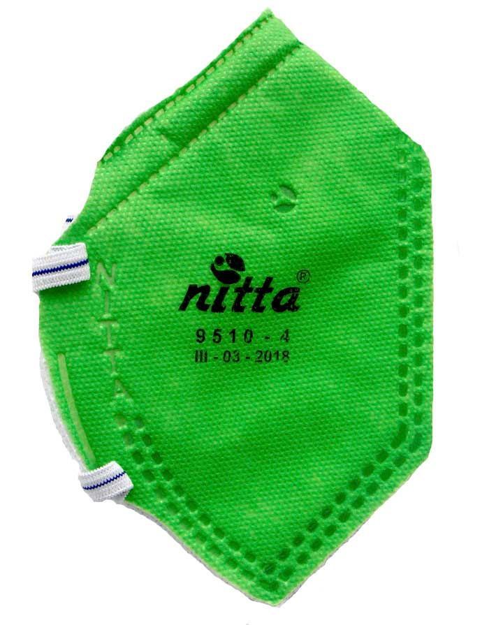 respiradores Inicio Respirador N95 Verde sin Valvula