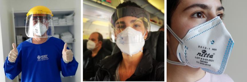 un respirador n95, es una mascarilla facial con filtro ¿Qué es un respirador N95 y por qué están certificados? banner certificacioens 862x287